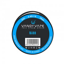Vandy Vape Ni80 Wire 28GA+30ft  (VW.0011)