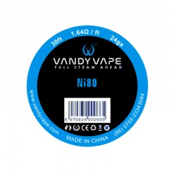 Vandy Vape Ni80 Wire 24GA+30ft  (VW.0028)