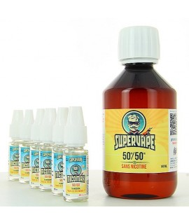 SUPERVAPE  EASY2MIX 50 PG/50 VG base 6 mg